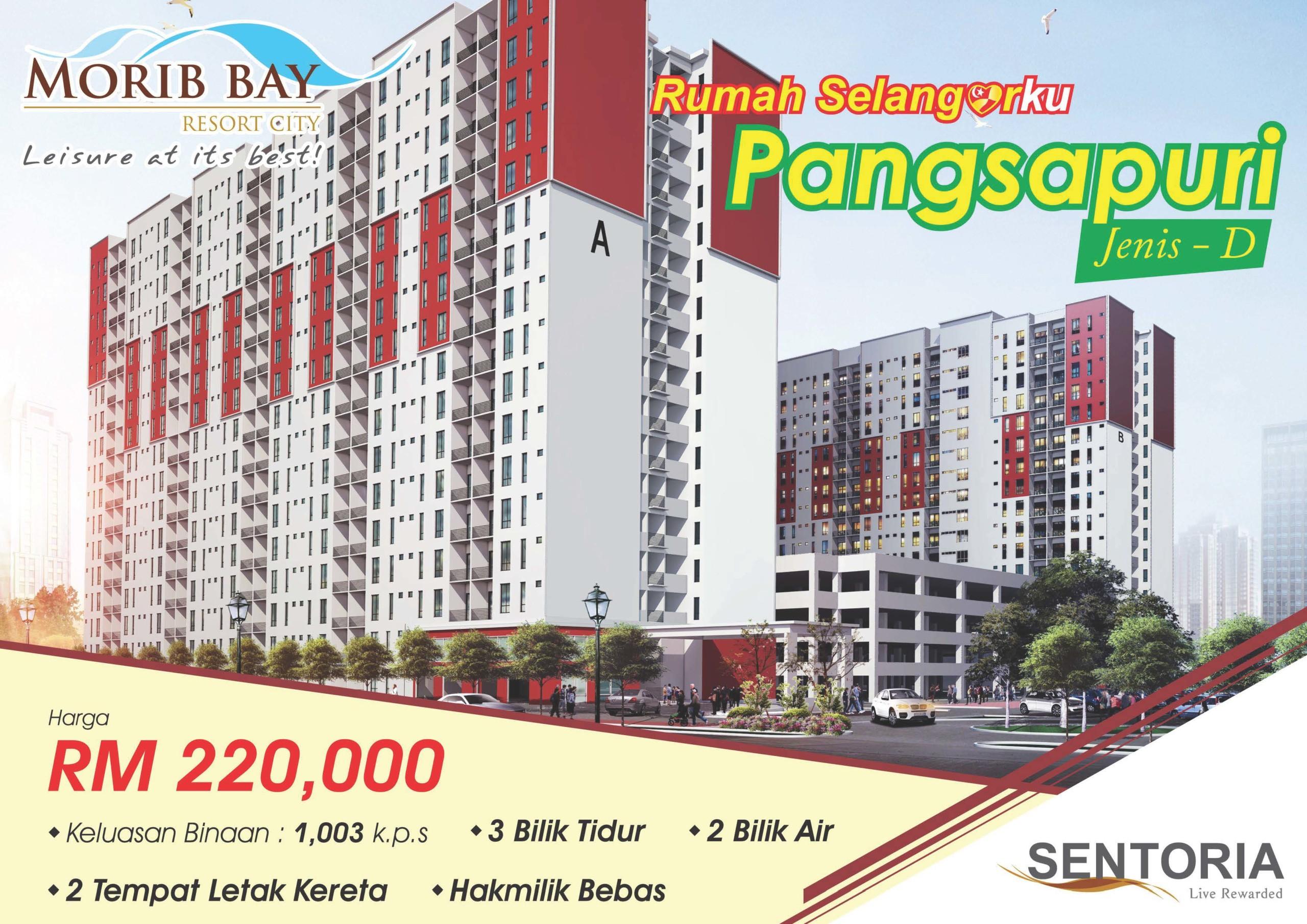 Morib Anggun Apartment - Rumah SelangorKu 1